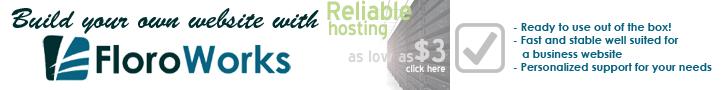 FloroWorks Webhosting