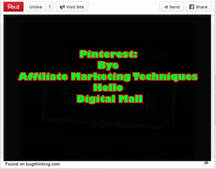 Pinterest Bye Affiliate Marketing Techniques Hello Digital Mall