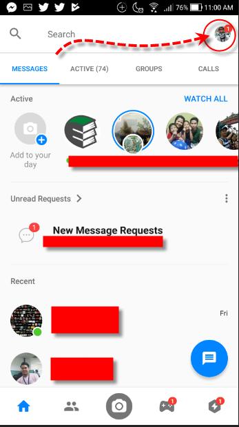 Facebook Messenger Me Avatar