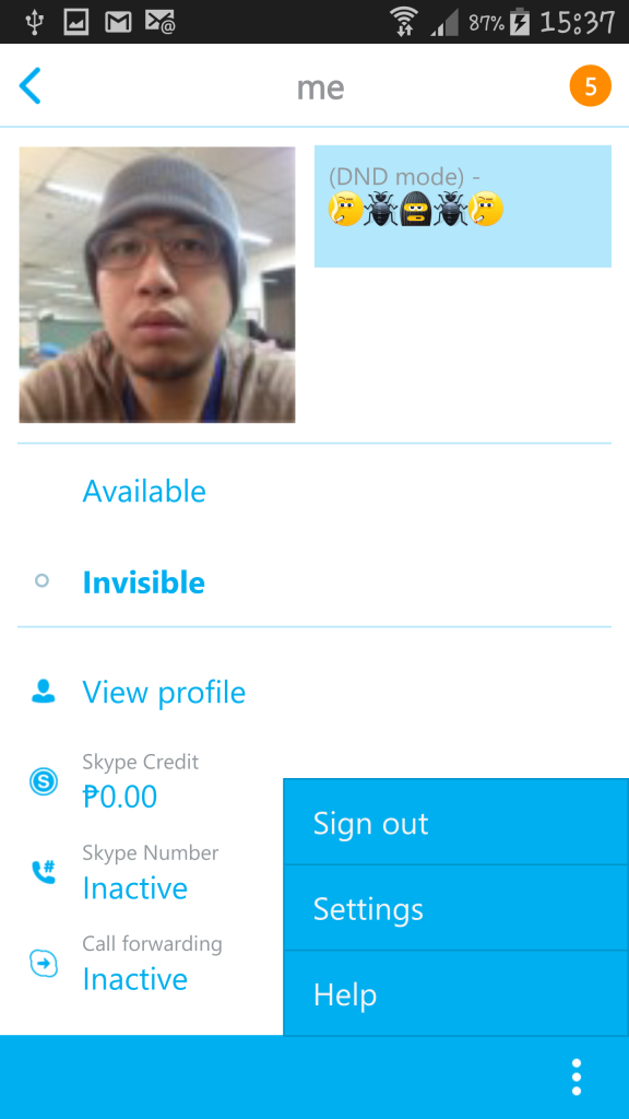 Fix Skype Logout Problem