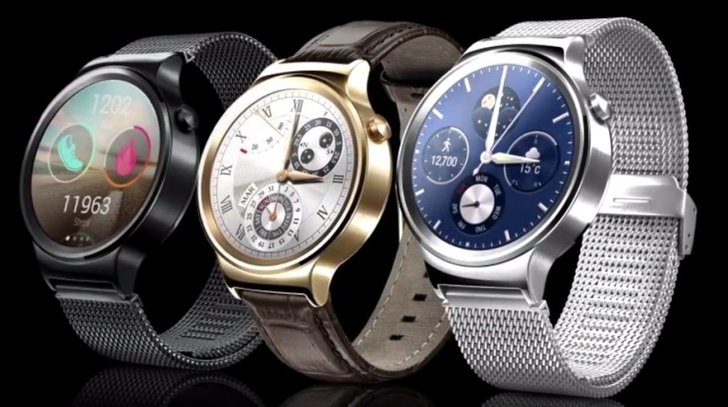 Huawei Watch at MWC 2015