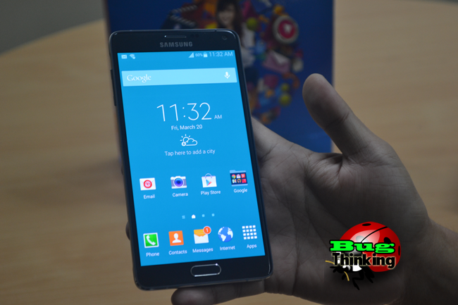 Samsung Galaxy Note 4 Hands-on
