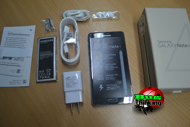 Samsung Galaxy Note 4 - Unboxing