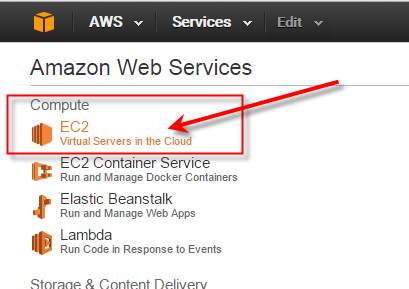 AWS EC2 Virtual Servers