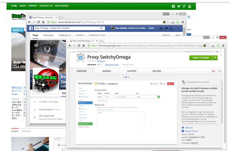 How To Setup SOCKS5 Proxy On Chrome Using An Extension