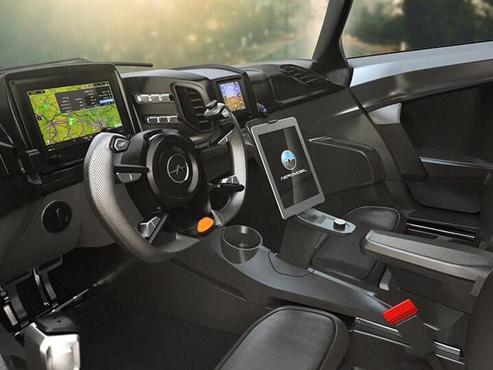 Human Machine Interface Glass Cockpit Aviation System