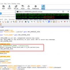 Configure Java version in SoapUI