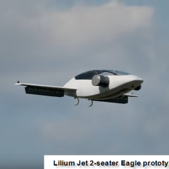 Lilum Jet 2-seater Eagle prototype Maiden Test Flight
