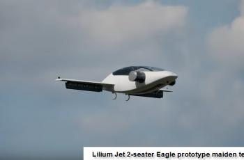 Lilum Jet 2-seater Eagle prototype Maiden Test Flight