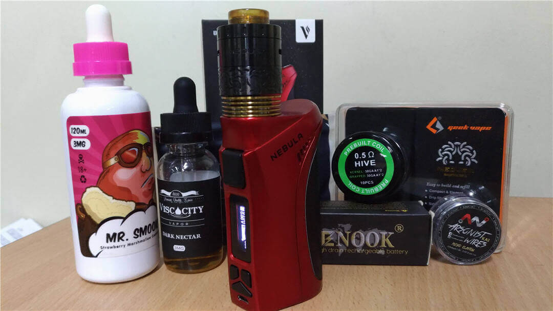 My Vaporesso Nebula and the gang - Powered by Bessy Vape shop