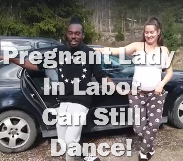 Pregnant Lady In Labor Shows Off Her Last Dancing Moves Before Going To The Hospital