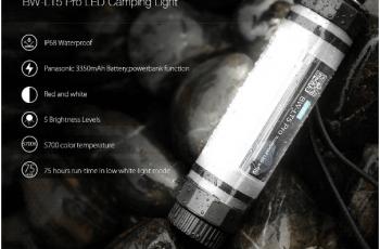 Waterproof Powerbank Emergency Camping Lantern