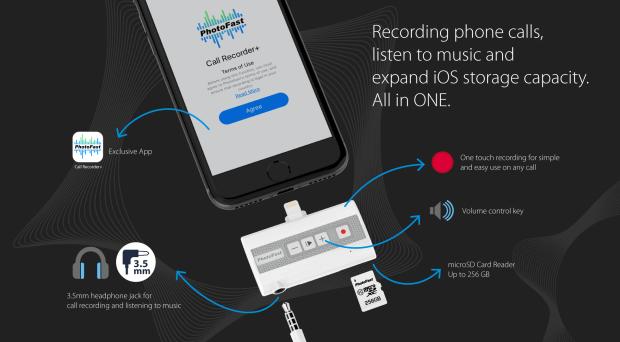 PhotoFast Call Recorder Specs