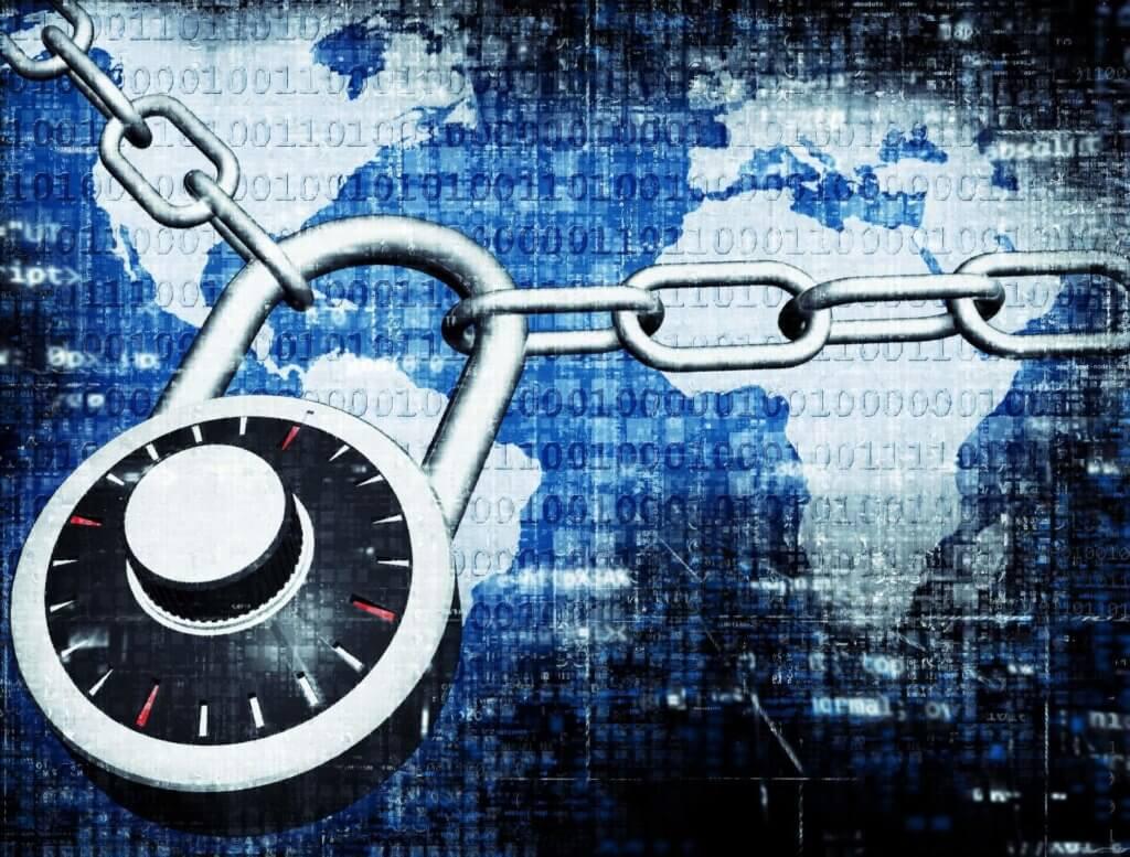 Cyberspace lock