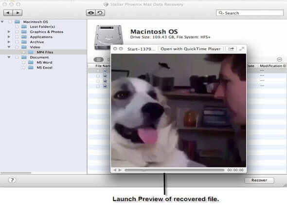 Mac Data Recovery - Step 5