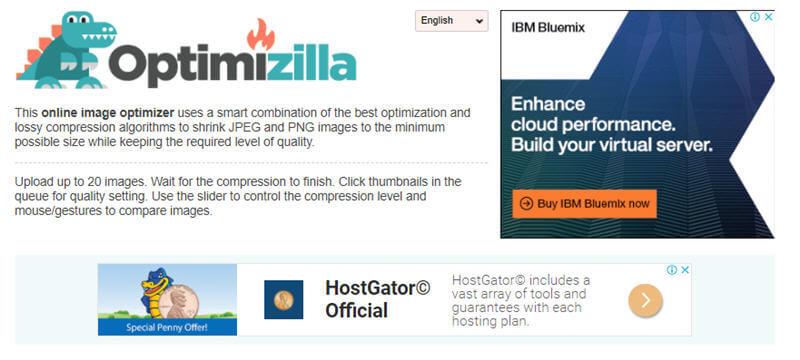 Optimizilla - online image optimizer