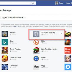 Facebook 3rd-party Apps Settings