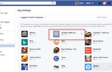 Remove Malicious Facebook 3rd-Party Apps To Protect Your Privacy