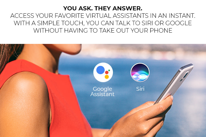 ARIA Google Assistant or SIRI compatible