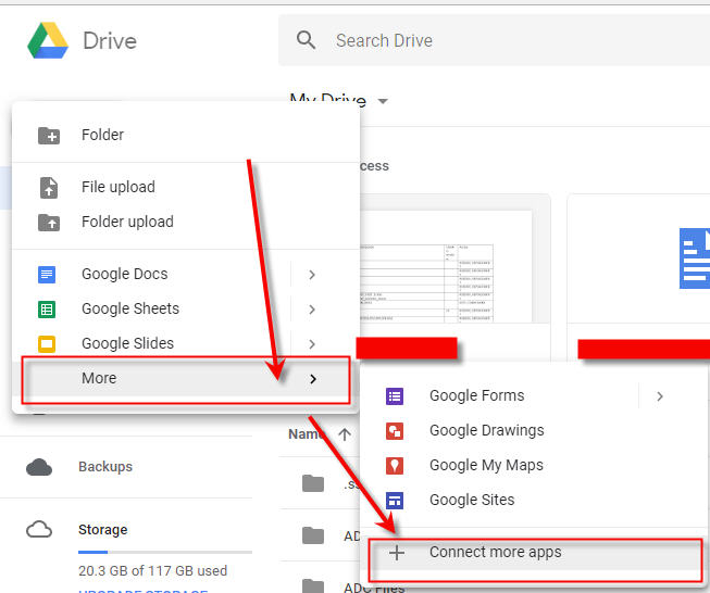 Google Drive - Connect More Apps
