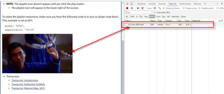 How to download kvs player v6 videos