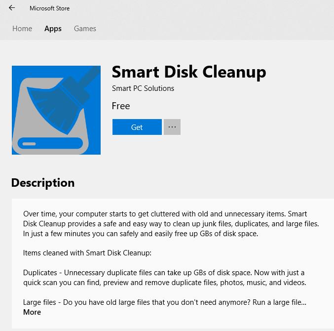 Smart Disk Cleanup