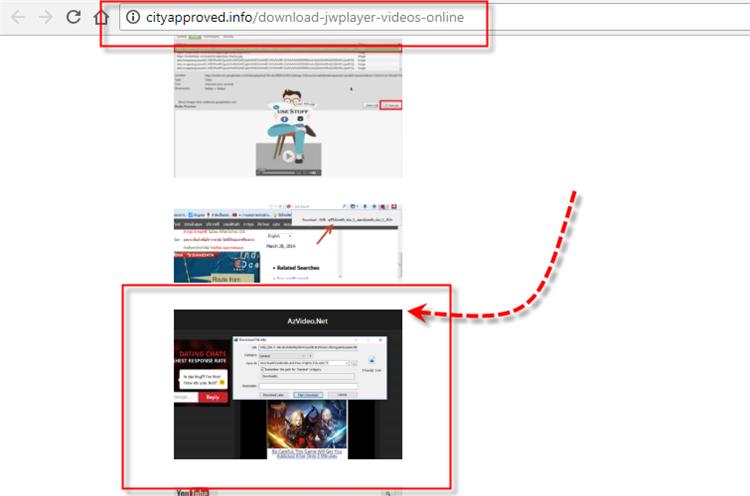 Spammy Website found