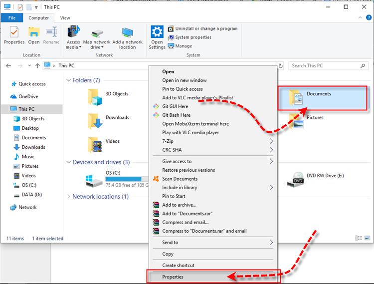 Windows 10 Documents