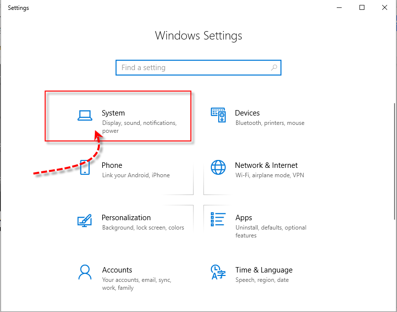 Windows 10 Windows Settings