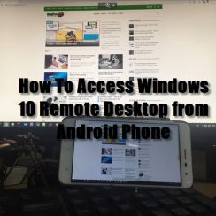 How To Access Windows 10 Remote Desktop from Android Phone