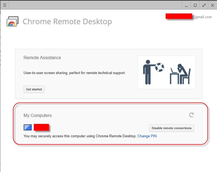 My Computers - How To Access Windows 10 Computer Remotely Using Google Chrome Remote Desktop