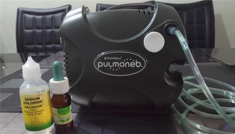 PulmoNeb Compact Compressor Nebulizer