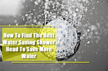 Find the best water saving shower head - Feature